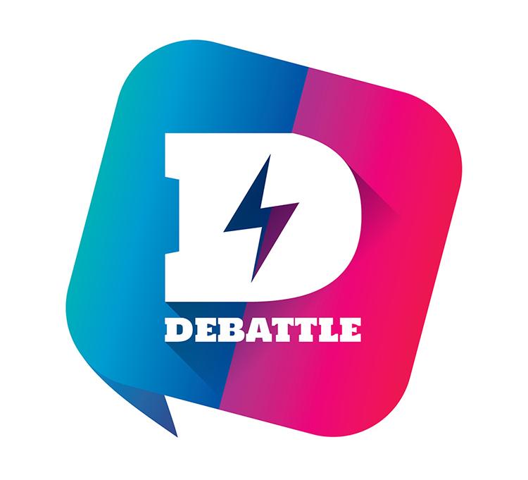 Logo- Debattle 2018 01