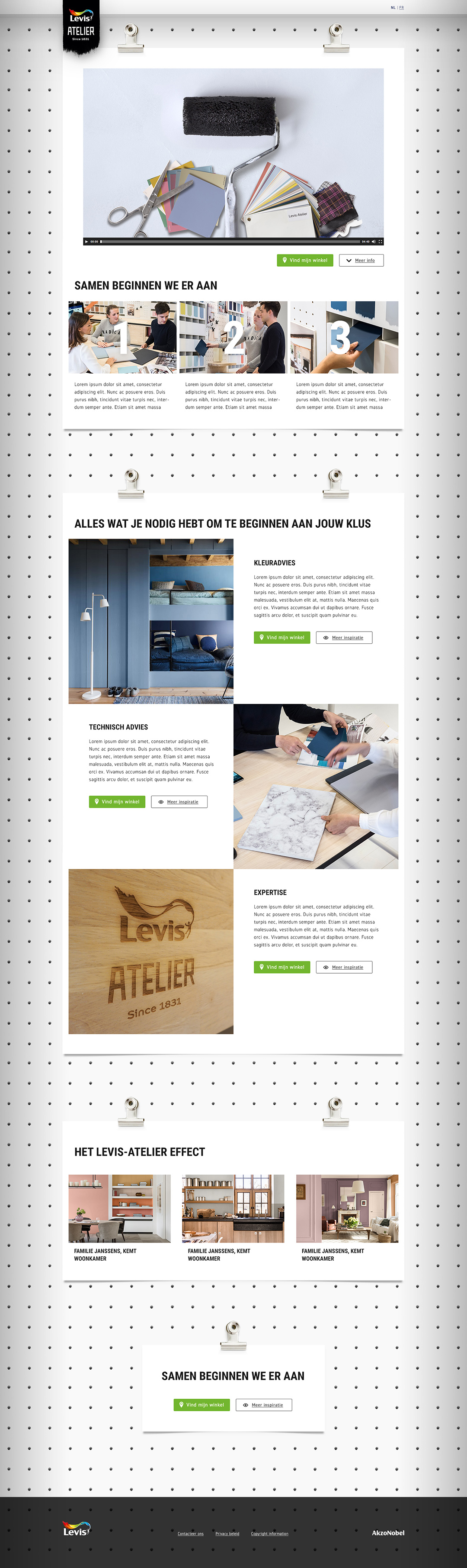 Levis Atelier v02 - 01 Home